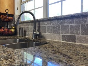 Kitchen Renovation Granite and Stainless